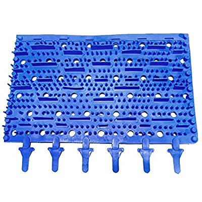 Replacement Aquabot Robotic Pool Cleaner Blue Molded Rubber Brush - 3002B