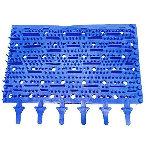 New Replacement Aquabot Robotic Pool Cleaner Blue Molded Rubber Brush - 3002B