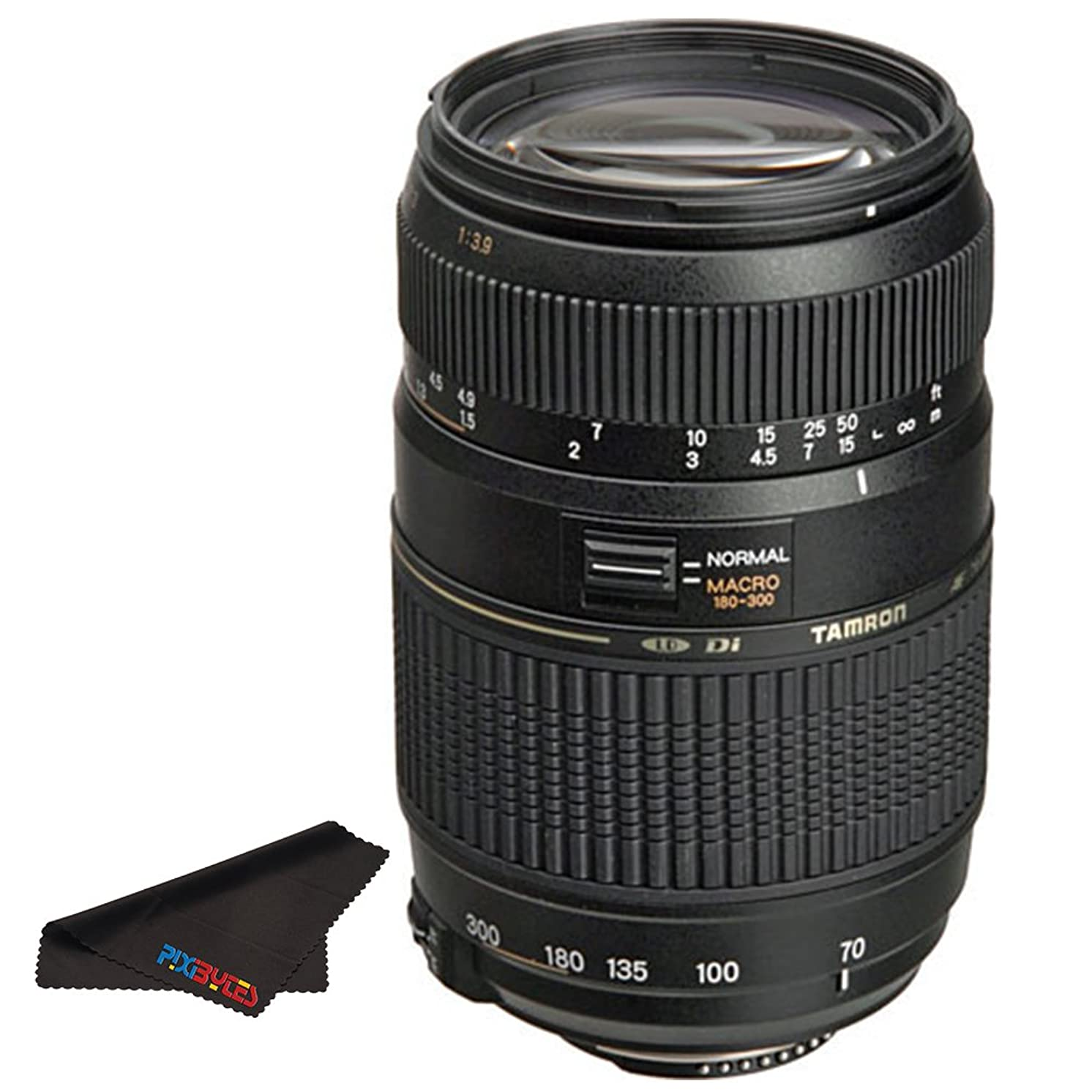 Tamron AF 70-300mm f/4.0-5.6 Di LD Macro Zoom Lens with Built In Motor for Nikon Digital