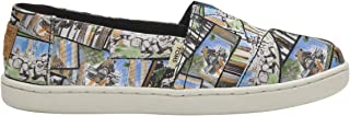 TOMS Star Wars Ewok Print Youth Canvas Slip-on Multi-Color 10014513