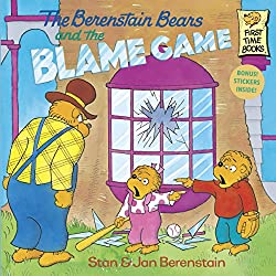 Kids book on responsibility and blaming others - Berenstain Bears