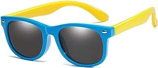ZHHAO - ZHHAO NIÑOS Gafas de Sol polarizadas Tonos Flexibles para niñas Boys UV400 Protección Edad 2-14 Niños bebé Regalo