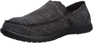 Men's Santa Cruz Canvas Linen Slip On Loafer