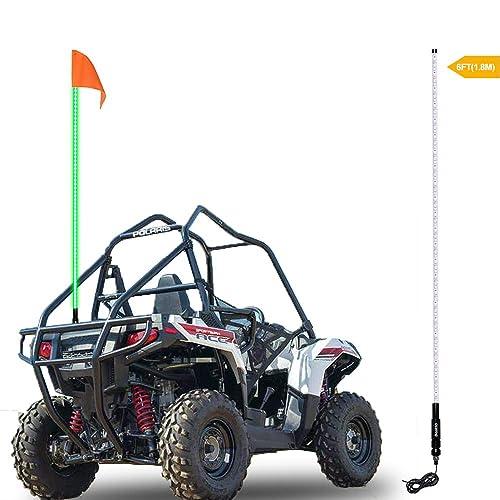 """Tusk Blue Quick Release Flag Pole Holder Mount 1//4/"""" atv utv sxs whip sand mx"""
