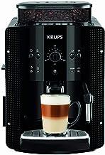 Krups Ea8108 Volautomatische Espressomachine, Automatische Reiniging, 2-Kopjesfunctie, Melkopsysteem met Cappucinoplus-Mondstuk, Zwart