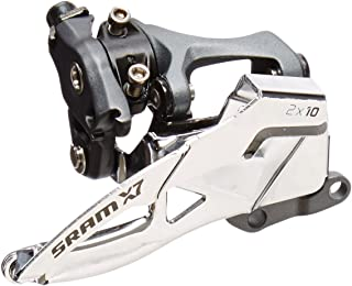 SRAM X7x10-Speed Low Dual Pull S3 Direct Mount Front Derailleur, 39T