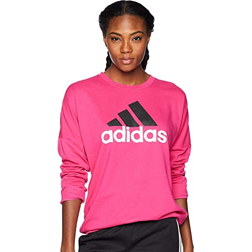 203ee34a085 adidas Womens Badge of Sport Pullover