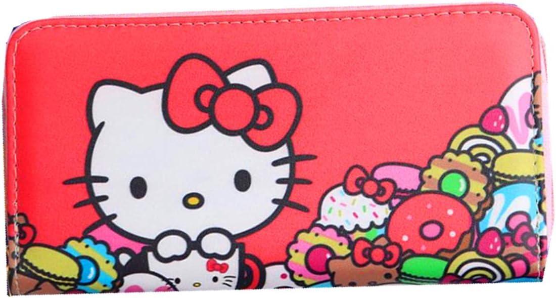 Kerr's Choice Card Holder Wallet Cat Clutch Purse PU Over item handling ☆ Kitty Ranking TOP14