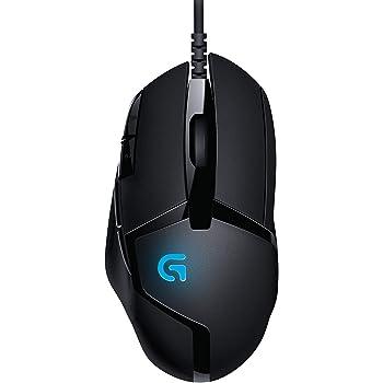 Logitech G402 Hyperion Fury FPS Mouse Gaming, 4000 DPI, Design Leggero, 8 Pulsanti Programmabili, Compatibile con PC/Mac/Laptop, Nero