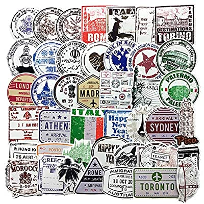 luggage stickers vintage, End of 'Related searches' list