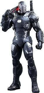 Movie Masterpiece Diecast - 1/6 Scale Fully Poseable Figure: Captain America Civil War - War Machine Mark 3