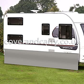600/x 50/cm avec compartiments Jupe de caravane PVC bourrelet de 7/mm
