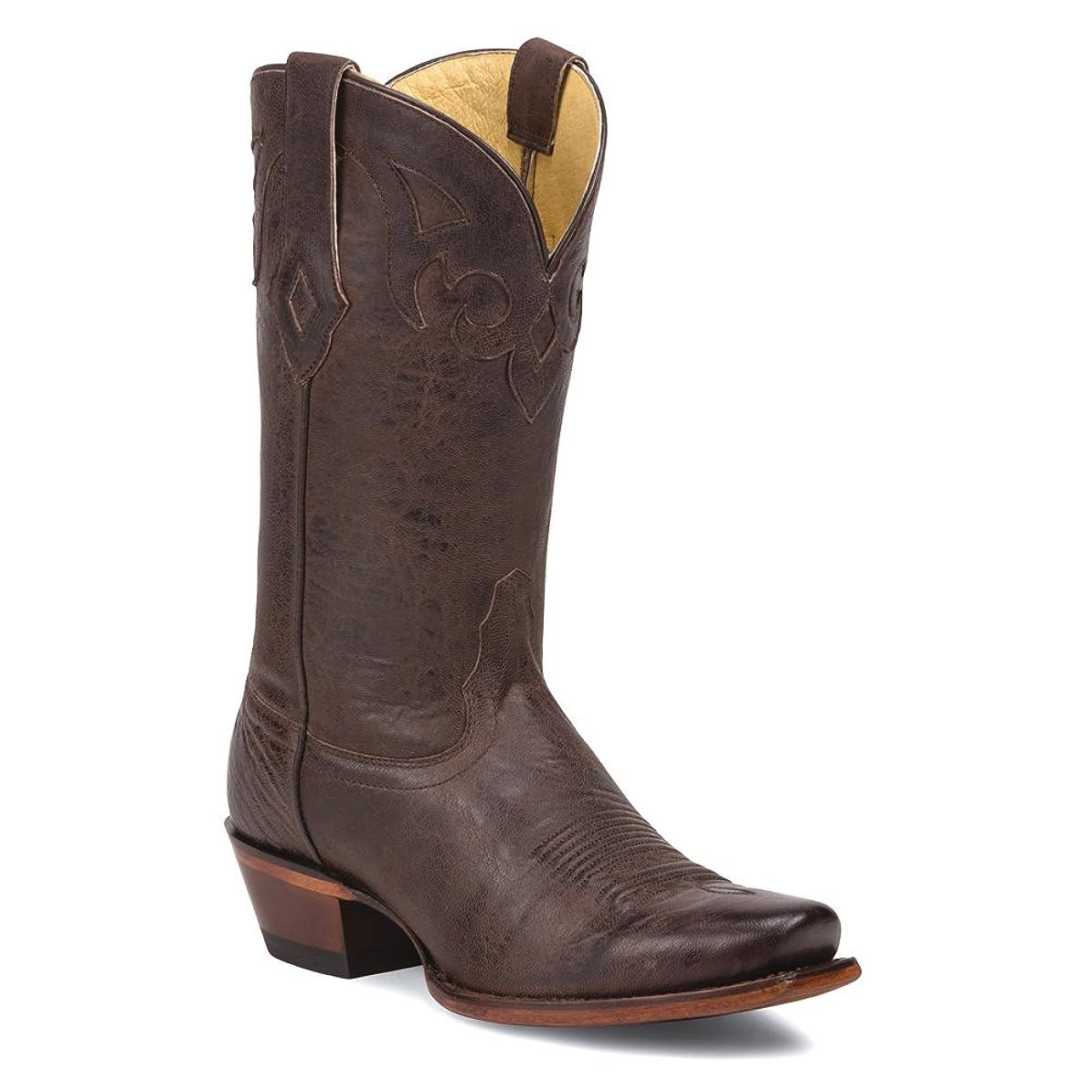 バイソンきれいにスタウト[トニーラマ] Women 's Cafe Crush 100?% Vaquero Cowgirl Boot Sq Toe?–?vf6029bad