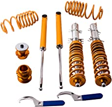 maXpeedingrods Coilovers Lowering Suspension Kits for VW Golf/Jetta/Bora/GLI/TDI MK4 1998 1999 2000 2001 2002 2003 2004 2005