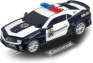 Carrera GO 64031 Chevrolet Camarao ZL1 Sherrif Slot Car Racing Vehicle