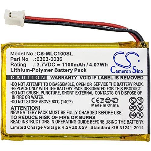 CS-MLC100SL Batería 1100mAh Compatible con [MINELAB] CTX 3030 WM-10 sustituye 0303-0036