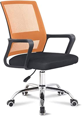 HOLPPO - Cadeira de computador de rede para mesa de escritório, cadeira de escritório com dormitório, reunião, pode levantar e virar o assento HOLPPO-mesa (cor: I)