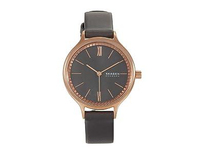 Skagen Anita Three-Hand Watch (SKW2909 Rose Gold/Mother-of-Pearl) Analog Watches