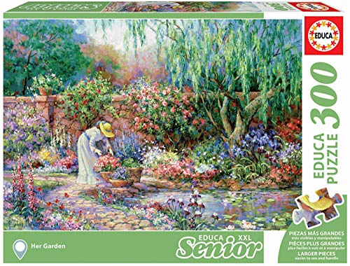 Serie XXL Senior, Puzzle 300 piezas Su jardín (17981)