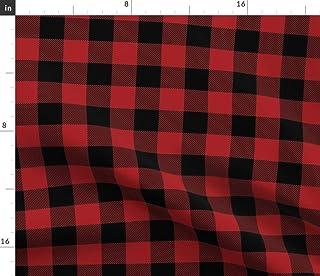 Amazoncom Gingham Black Fabric Arts Crafts Sewing
