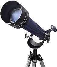 GJNVBDZSF Telescópio para astronomia profissional de observar estrelas para estudantes, crianças, espelho Zenith completo ...