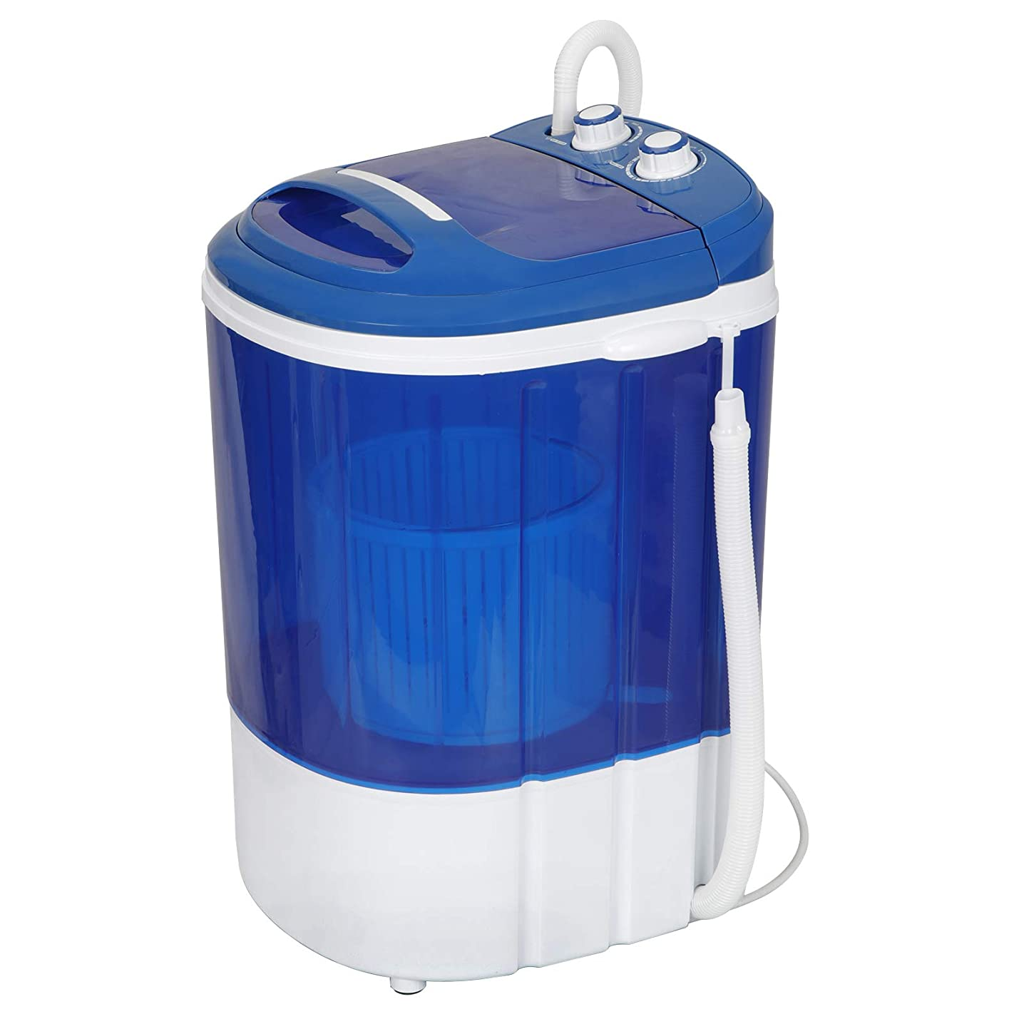 Mini Washing Machine, 9lbs Portable Washer for Compact Laundry Semi-Automatic Compact Washer & Spinner