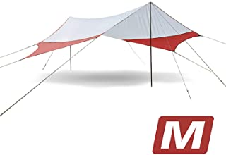 Outdoor Awning Beach Large Camping Tents Shelter The Sun Waterproof Ultralight Fast Build 400350 cm