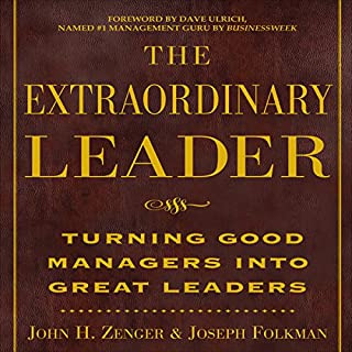 The Extraordinary Leader audiobook cover art