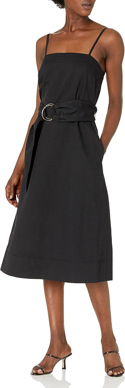 Club Monaco Women's Belted A-line Dress