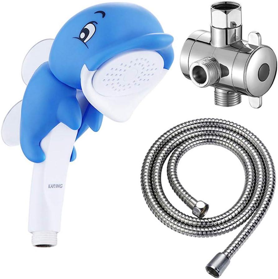 7. Children's Handheld Dolphin Shower Head