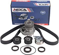 MOCA Timing Belt Water Pump Kit for 1999-2002 Daewoo Leganza & 1998-2000 Isuzu Amigo & 1998-2003 Isuzu Rodeo 2.2L # TBS305