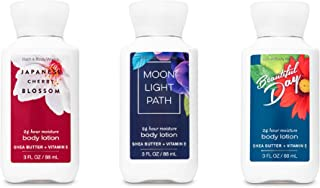 Bath Body Works Beautiful Day Japanese Cherry Blossom Moonlight Path Travel Lotions
