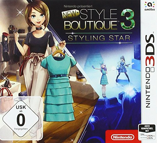 Nintendo präsentiert: New Style Boutique 3 – Styling Star - Nintendo 3DS [Importación alemana]