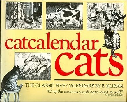 Catcalendar Cats by B. Kliban (1986-09-02)