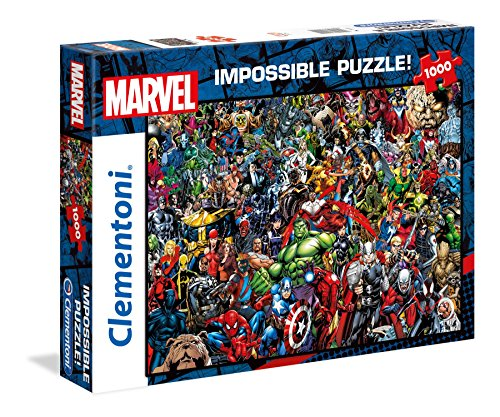 Clementoni Puzzle Impossible Marvel 1000 pzas