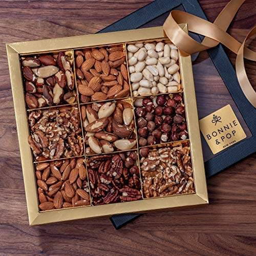Hampers and Gift Baskets - Gourmet Food Gifts Prime Delivery – Mother's Day, Christmas, Fathers Day Nuts Gift Box, Healthy Hamper Assortment Tray - Birthday, Sympathy, Get Well Soon, Men & Woman