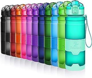 comprar comparacion ZOUNICH Botella Agua Deporte Botellas Agua Niños sin BPA, Reutilizable Tritan Plástico Ecologica con Filtro, 400ml/500ml70...