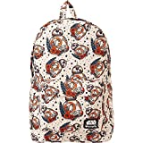 Loungefly The Force Awakens BB-8 Tattoo Backpack (Tan/Multi)