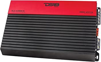 DS18 SLC-X3050.1D Car Audio Amplifier in Red - Class D, Monoblock, 2250 Watts Max, Digital, 1-4 Ohm, Limited Edition - Car Audio Amp for Subwoofer and Door Speakers at a Value Price