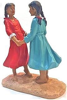 Me Girls Game Sculpture - AL1380