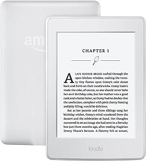 Amazon Kindle Paperwhite 300PPI 6 Inch Glare-Free Touchscreen Display White