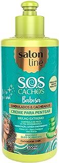 Salon Line - Linha Tratamento (SOS Cachos) - Creme para Pentear Babosa 300 Ml - (Salon Line - Treatment (SOS Curls) Collection - Aloe Vera Combing Cream Net 10.58 Oz)