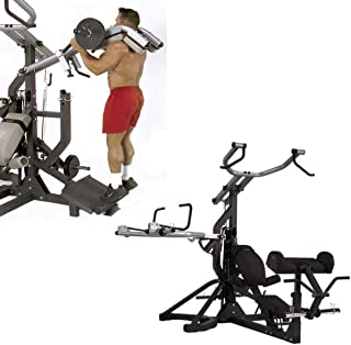 Body-Solid Free-Weight Leverage Gym (SBL460) with LEV Gym Squat Attach