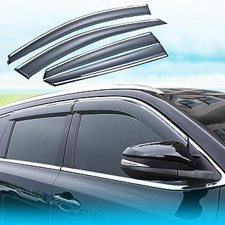 J/&J Automotive Deflectores de viento compatibles con Honda CRV C-RV 2012-2017 5 puertas 4 unidades