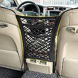 3-Layer car seat storage mesh organizer -2car...