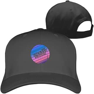 シンプル 無地 コットン キャップ 帽子 6カラーThe Endless Summer