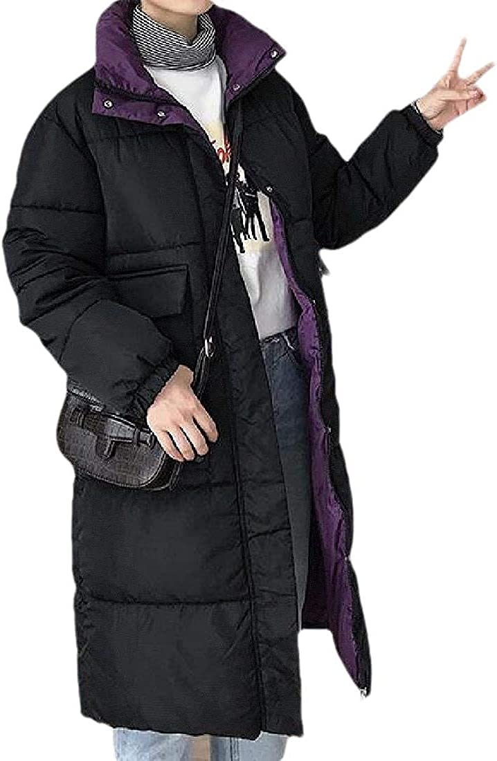 Women Thicken Winter Parka-Coat Hooded Solid Color Warm Down Coat Quilted Jacket