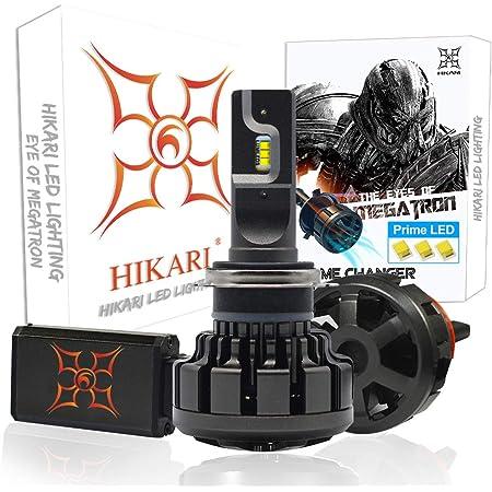 HIKARI Ultra H7 LED Bulbs Conversion Kit, Prime ZES LED, Halogen Replacement 6K Cool White Foglight