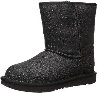 UGG Kids' Classic Short II Glitter Boot
