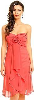 Mayaadi Kleid Spitzen-Kleid Ball-Kleid Fest-Kleid Abend-Kleid Party-Kleid Cocktail-Kleid Blumen-Kleid HS-255